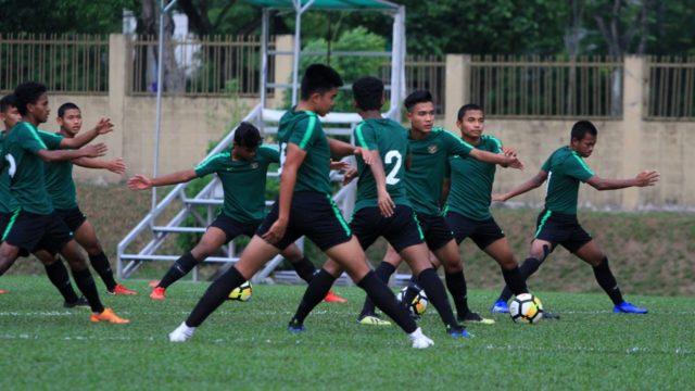 Cecep Mulyana Akui Kesulitan Untuk Adaptasi Di Timnas Indonesia U-16