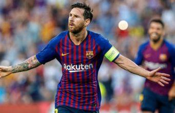 Lionel Messi Cetak Rekor Hat-Trick Di Liga Champions