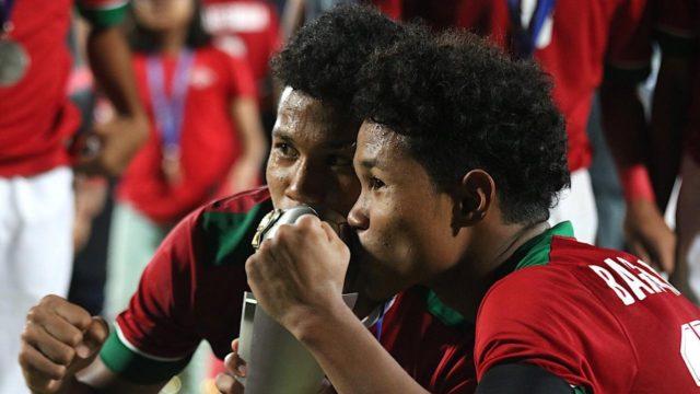 Kembar Timnas Indonesia U-16 Gabung Barito Putera