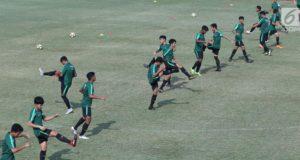 Latihan Terakhir, Timnas Indonesia Matangkan Bola Mati