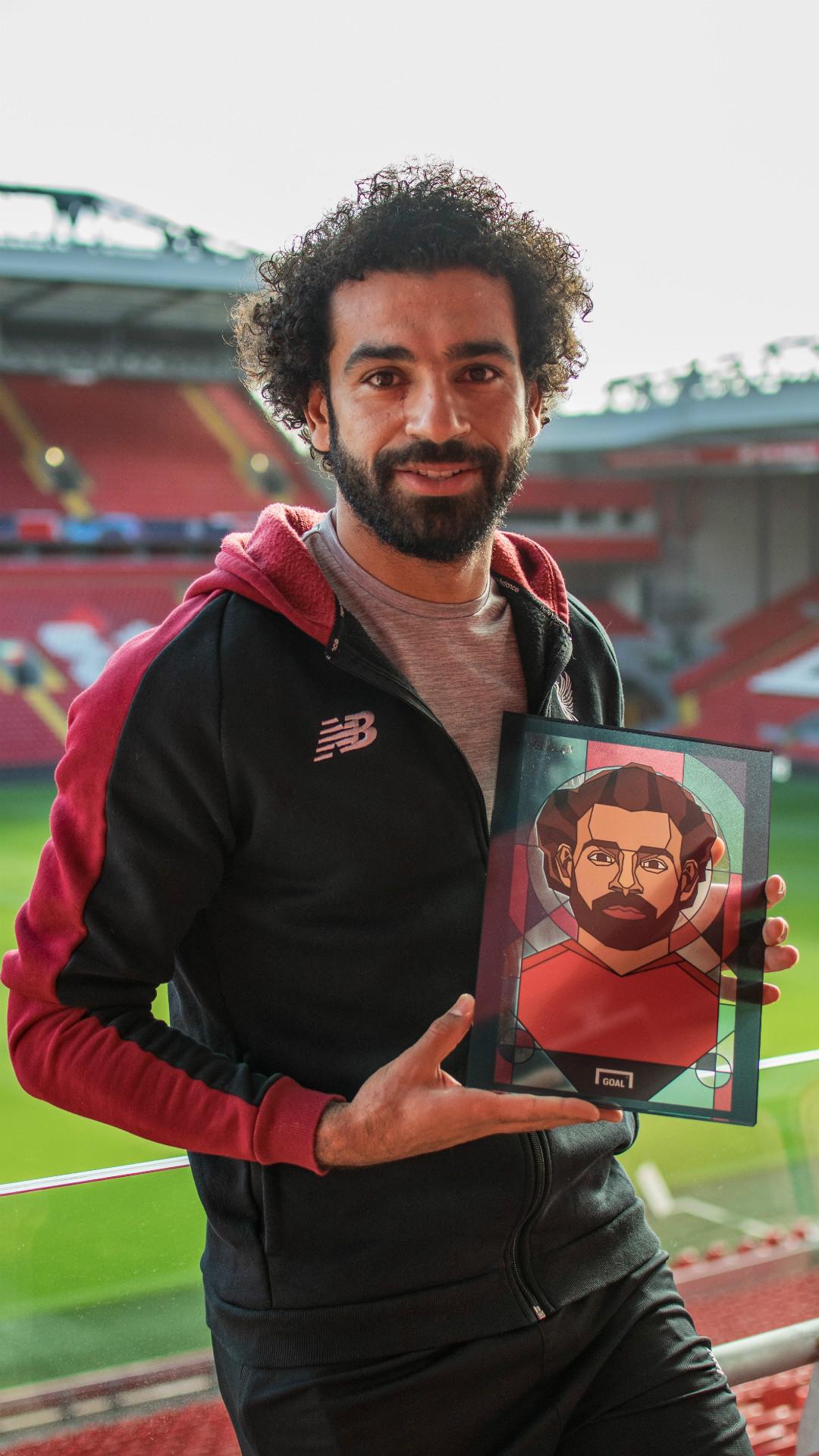 Mohamed Salah Terpilih Jadi Pemain Terbaik Ketiga Dunia