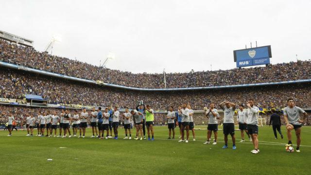 Suporter Boca Juniors Sesaki Stadion Hanya Untuk Saksikan Tim Kesayangan Latihan
