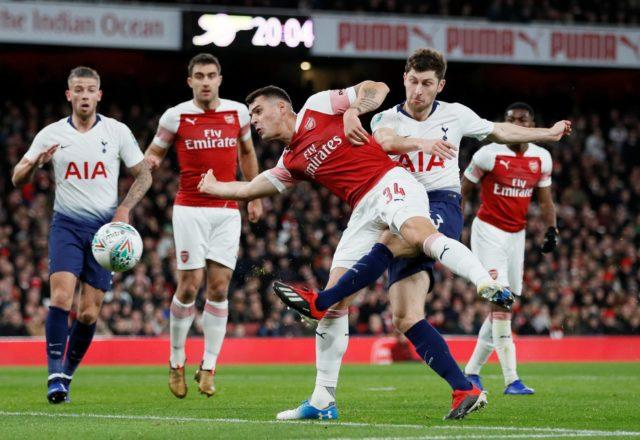 Arsenal Disingkirkan Tottenham Hotspur