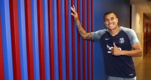 Barcelona FC Resmi Pinjam Jeison Murillo