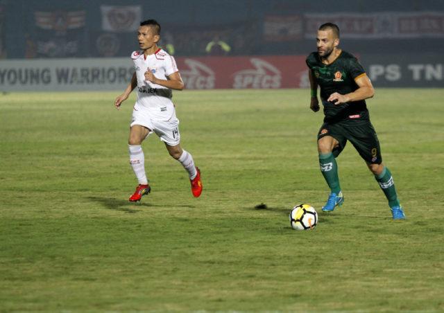 PS Tira Aleksandar Rakic saat lawan Persija