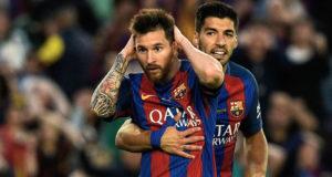 Barcelona FC Incar Treble