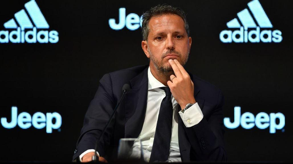 Fabio Paratici di Acara Jumpa Pers Juventus FC