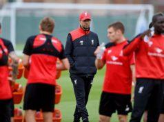 Jurgen Klopp di Sesi Latihan Bersama Liverpool