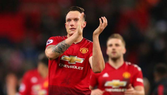 Phil Jones Bersama Manchester United