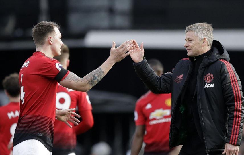 Kekompakan Antara Phil Jones dan Ole Gunnar Solskjaer di Manchester United