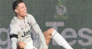 Cristiano Ronaldo Cedera Hamstring