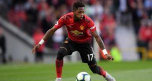 Fred Dengan Seragam Manchester United