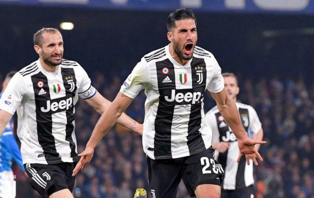 Juventus FC Mencetak Gol