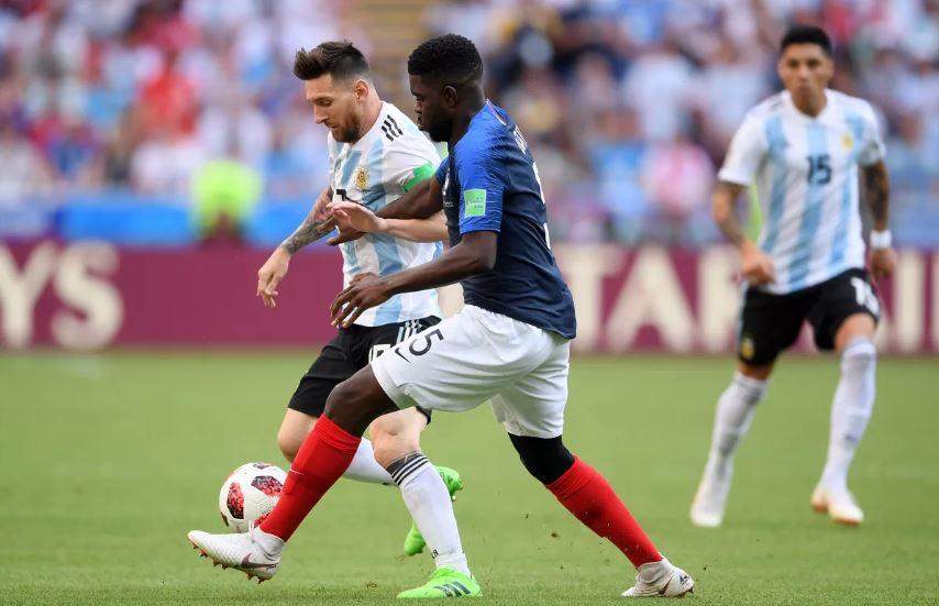 Lionel Messi Bersama Timnas Argentina Melawan Perancis