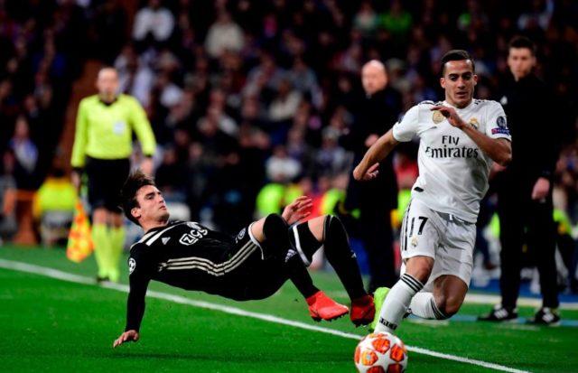 Real Madrid vs AJAX Amsterdam