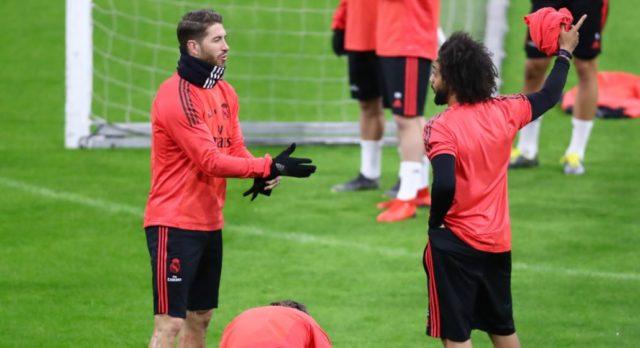Sergio Ramos Berkelahi Dengan Marcelo