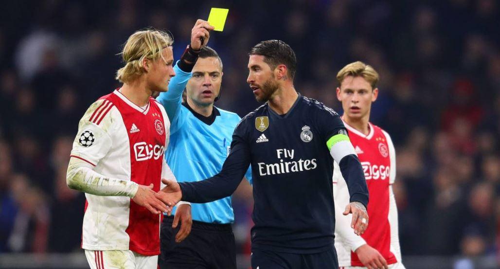 Kartu Kuning Sergio Ramos