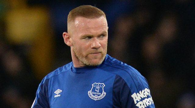 Wayne Rooney dengan seragam Everton