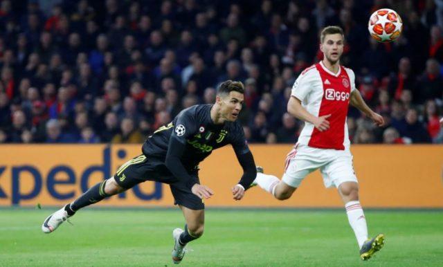 Cristiano Ronaldo dan Pemain Ajax