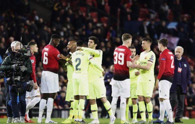 Manchester United vs Barcelona FC