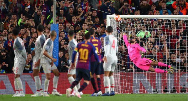 Barcelona FC vs Liverpool