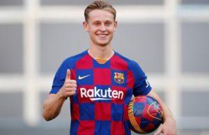 Frenkie De Jong, Salah Satu Rekrutan Barcelona FC di Musim Ini