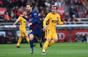 Lionel Messi vs Antoine Griezmann