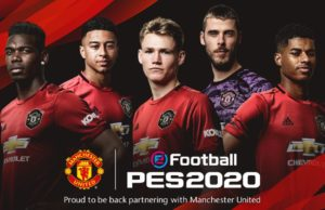 Manchester United in Pro Evolution Soccer 2020