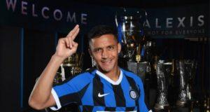 Alexis Sanchez Dengan Seragam Inter Milan