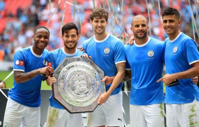 Manchester City Jadi Juara Community Shield