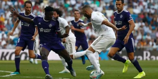 Real Madrid vs Valladolid