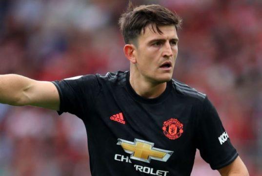 Maguire Berseragam Manchester United
