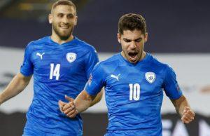 Cuplikan Pertandingan Israel vs Denmark