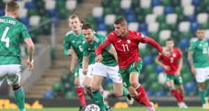 Cuplikan Pertandingan Northern Ireland vs Bulgaria