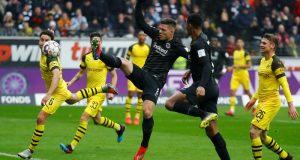 Cuplikan Pertandingan Borussia Dortmund vs Eintracht Frankfurt