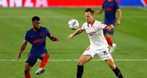 Cuplikan Pertandingan Sevilla vs Atletico Madrid