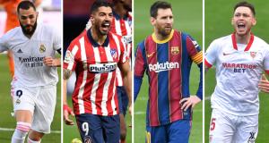 Penentu La Liga: Barcelona Vs Atletico Madrid & Real Madrid Vs Sevilla