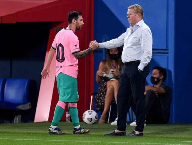 Nasib Lionel Messi & Ronald Koeman DI Barcelona