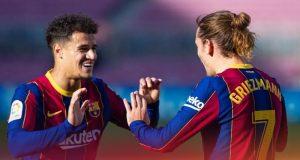 Barcelona Akan Tendang Coutinho dan Griezmann