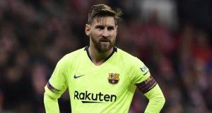 Barcelona Tidak Mengijinkan Messi Latihan