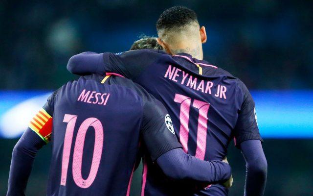 Lionel Messi & Neymar