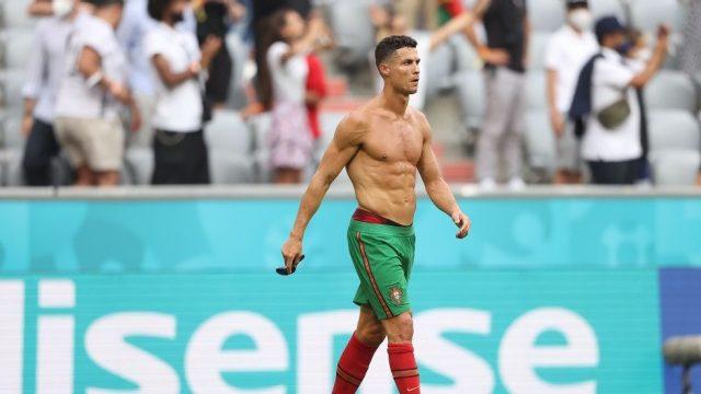 Ronaldo Mengaku Lupa Selebrasi Buka Jersey